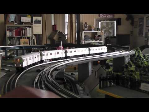 Running Lionel and MTH O Gauge Trains and Subways in HD