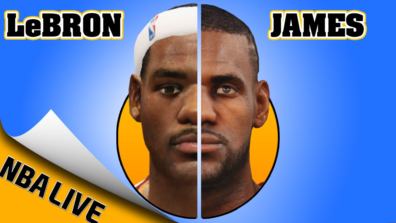 The Evolution of LeBron James In NBA2K & NBA Live (2004-2016