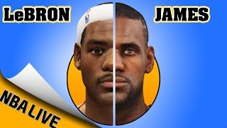 LEBRON JAMES EVOLUTION [NBA LIVE 04 - NBA LIVE 16]