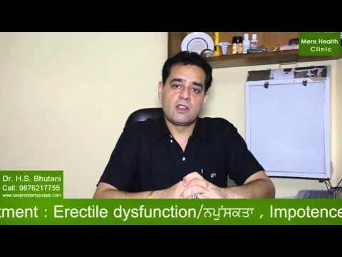 Erectile Dysfunction Treatment in India