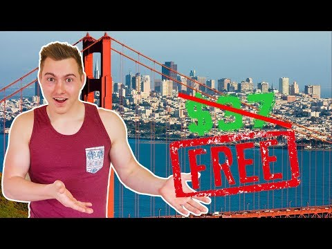 Cheapest Way To Travel San Francisco!! Hostel Review/Tour
