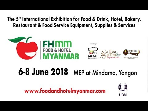 Food & Hotel Myanmar – June 2019, Yangon | Export Solutions