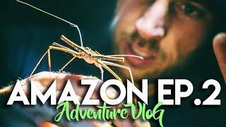 AMAZON JUNGLE ADVENTURE CHALLENGE VLOG - EP. 2