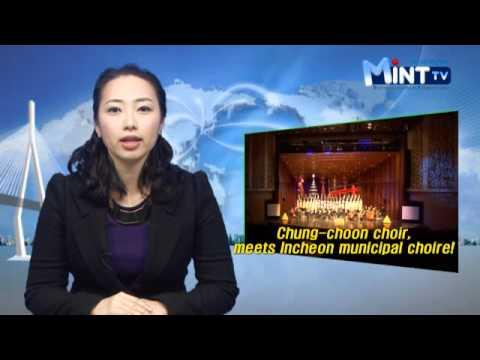2011.12.30 Korea Incheon city hall english broadcasting news