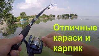 Летняя рыбалка у пирса. Днестровский лиман
