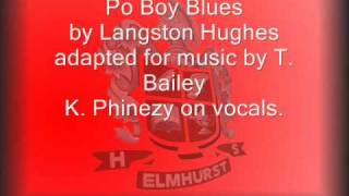 Po Boy Blues by Langston Hughes