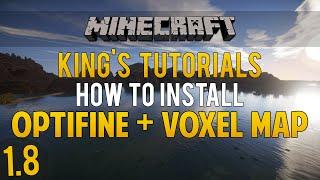 Minecraft 1.8: How to install OptiFine Mod & Voxel Map Mod (Forge & LiteLoader) (1080p60FPS)