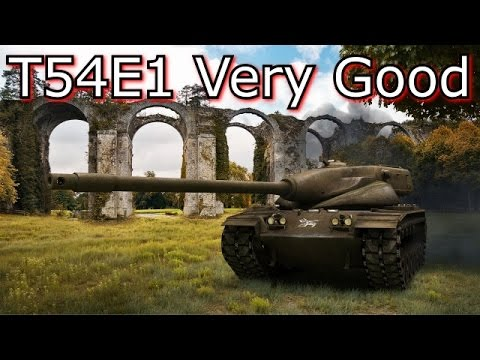 World of Tanks - E17 Ace Tanker T54E1 Many Medals! thumbnail
