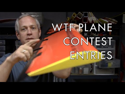 WTF Plane Contest Entries