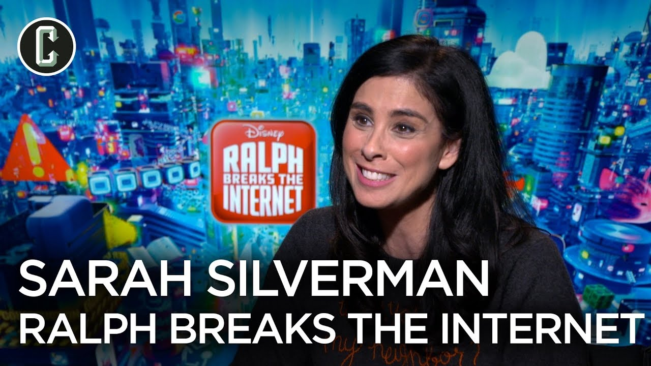 Ralph Breaks The Internet Sarah Silverman Interview Youtube