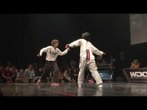 Kickin Knock(HA-KUN TSUKKI) Vs BLAZIN(JJ ライト) WDC 2019 FINAL   KIDS   #WDC