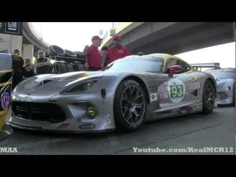 2013 SRT Viper GTS-R Sound - Walkaround - Baltimore Grand Prix