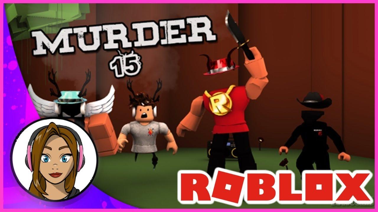 IM A MURDERER! Roblox Murder 15 Gameplay