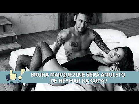 Bruna Marquezine Dará Sorte A Neymar Na Copa?