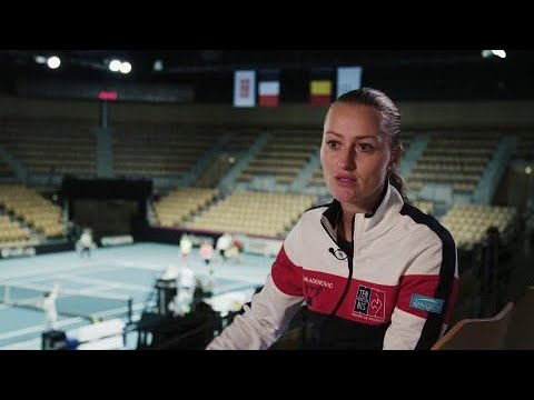 Timeout with Kristina Mladenovic