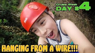 ZIPLINE ADVENTURE IN ST. THOMAS!!! Flowrider Wipeout! Allure of the Seas [CRUISE WEEK DAY 4]