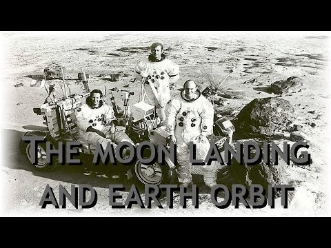 The moon landing and earth orbit? ▶️️