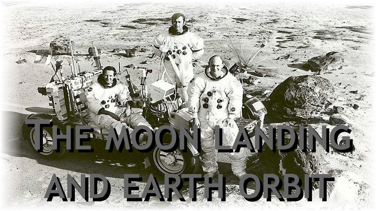 The moon landing and earth orbit?