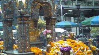 Thailand Four Faces Buddha & Pray Dance (Bangkok) (泰國四面佛)