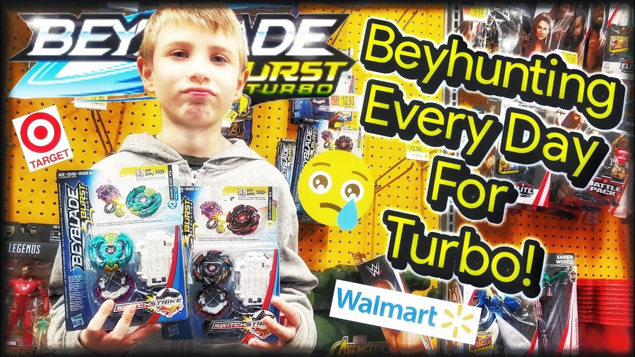 Beyblade Burst Toy Hunting Every Day at Target & Walmart for Hasbro Turbo  Beyblades - Beyhunting