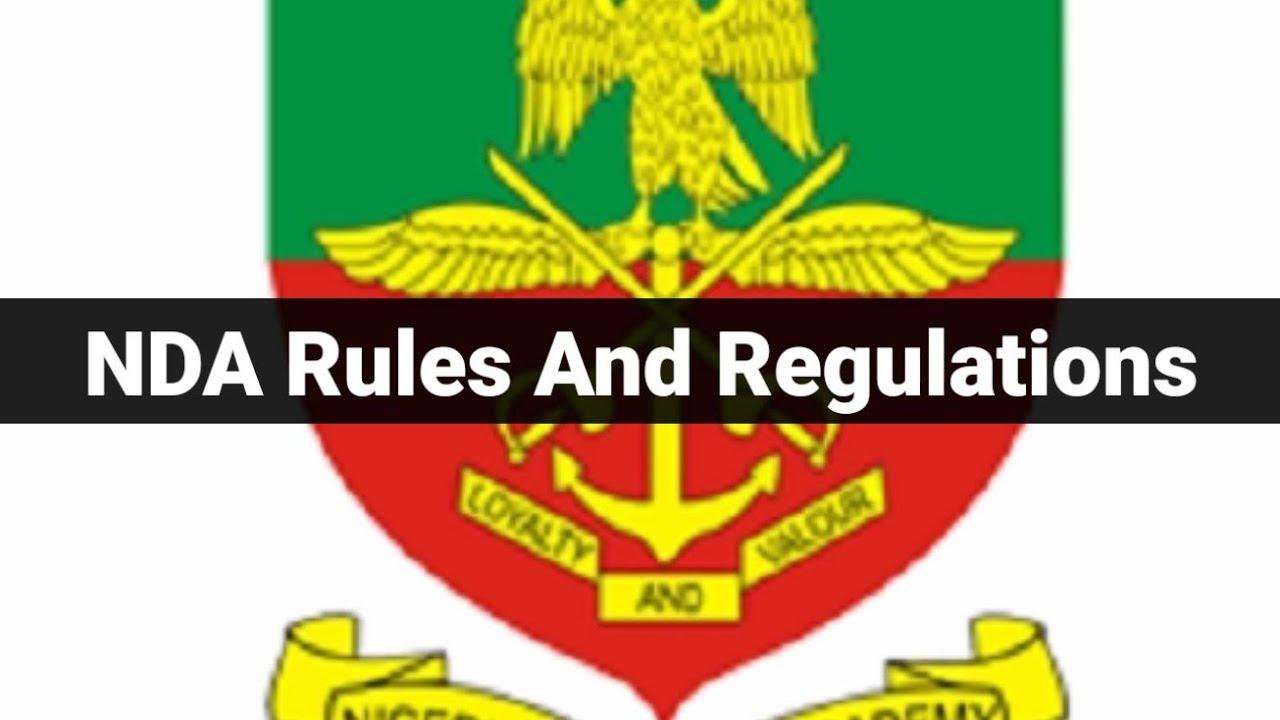 Download NDA Rules And Regulations