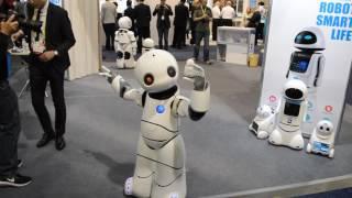 Dancing Robot CES 2017 Tanscorp UU CES 2017 #CES2017