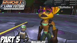 Ratchet & Clank Future Tools of Destruction Gameplay Walkthrough Part 5 - PS3 Lets Play