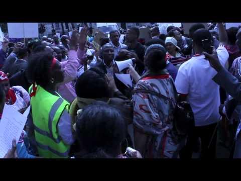 Sudan Protest - London 30/06/12