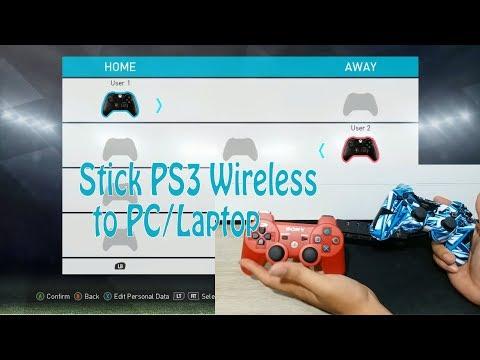 Cara Hubungkan Stick PS3 Wireless Ke PC/Laptop Windows 10 Tutorial