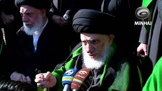 كلمة توجيهية لسماحة المرجع الديني الكبير السيد الحكيم اثناء مشاركته الزوار في زيارة الاربعين