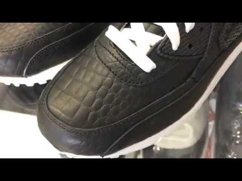 Air Max 90 Crocodile Snake Skin Sneaker Review NikeID - YouTube a1bc75dbb7f9