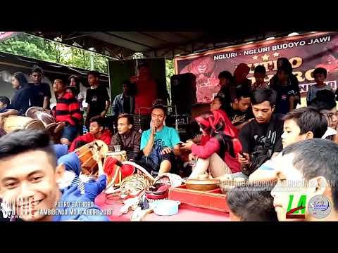 """Jaranan Putro Bhatoro """"Cinta Di Mato"""" Voc Djhosua & Wulan Live Tambibendo"""