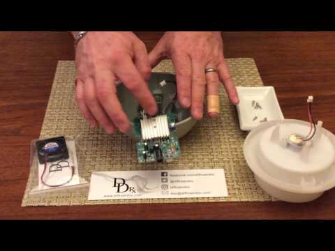 How to Replace the Fan in a Young Living Dewdrop Diffuser