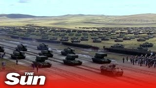 Vostok 2018 Russia And China Show Off Their Forces