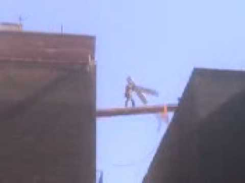 Osha Violation Worker Uses Ladder Between Two Buildings