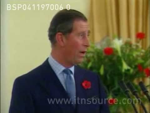 Prince Charles praises Diana's work