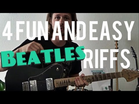 4 Fun and Easy Beatles Riffs