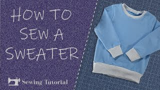 How to Sew This Simple Sweater   Tutorial   DIY