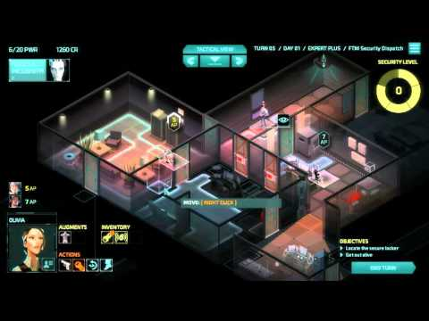 Invisible Inc Campaign 3-2 Contingency Plan