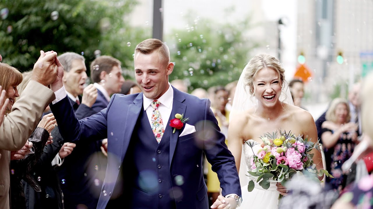 Heinz Field Pittsburgh Wedding Video { Carolyn & Brett } Wiley Wedding Films