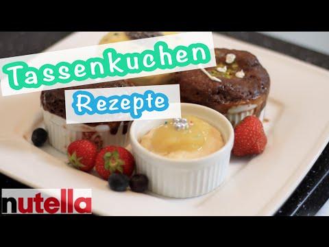 Diy Blitz Rezept Nutella Tassenkuchen Nutella Kuchen Im