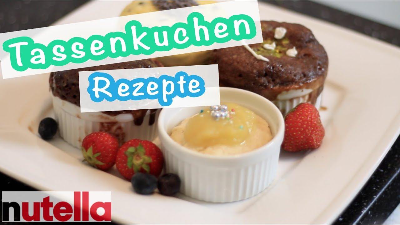 Nutella Kuchen In 1 Minute Tassenkuchen Rezepte Kisu Youtube