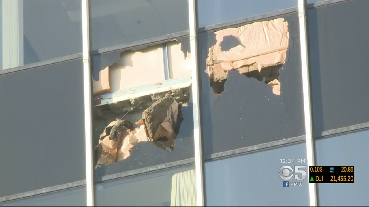 Office Building Damaged By Oakland Fire Evacuated Due To
