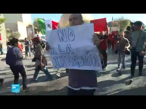 المكسيك: مظاهرة مناهضة لقافلة المهاجرين المتجهة نحو الحدود الأمريكية  - نشر قبل 3 ساعة