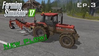 First Harvest! We Get A Shiny New Plow! - Farming Sim Ep.3
