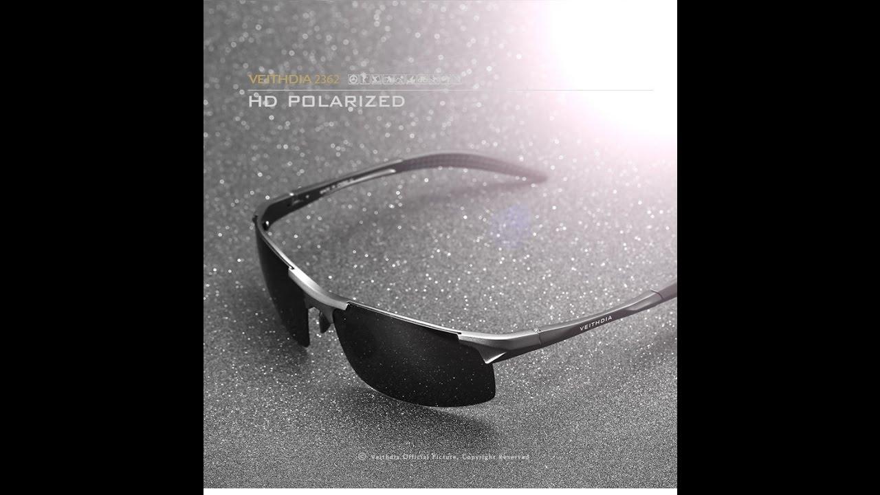 29d4350d3d VEITHDIA Aluminum Mens Sunglasses Sport Polarized Driving Eyewear ...