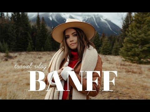 TRAVEL VLOG: BANFF, ALBERTA