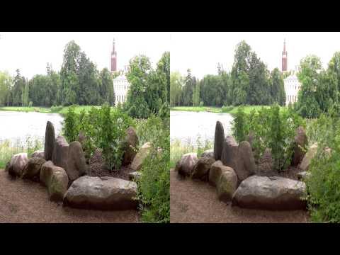 Wörlitzer Park - paradiesische Idylle - Real 3D