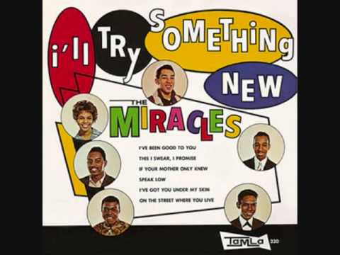 smokey robinson and the miracles i ll try something new