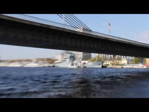 The River Daugava, Riga - Latvia